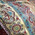 YOUSA Bohemia Retro Printing Bedding Ethnic Vintage Floral Duvet Cover Boho Bedding 100% Brushed Cotton Bedding Sets