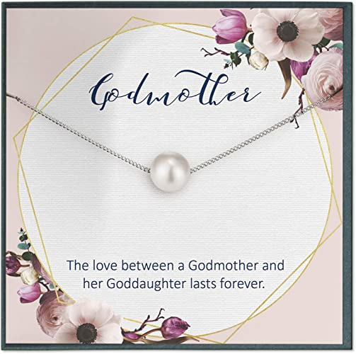 Godmother Proposal Gift for Godmother Necklace for Godmother Gift Will you be my Godmother Card