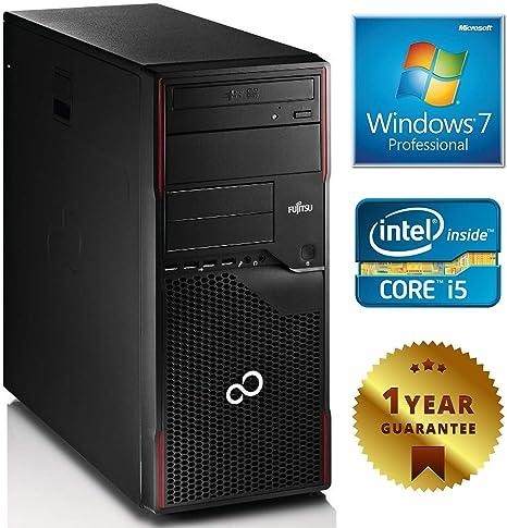 Torre para ordenador de sobremesa, fija, renovado, Fujitsu P710 ...