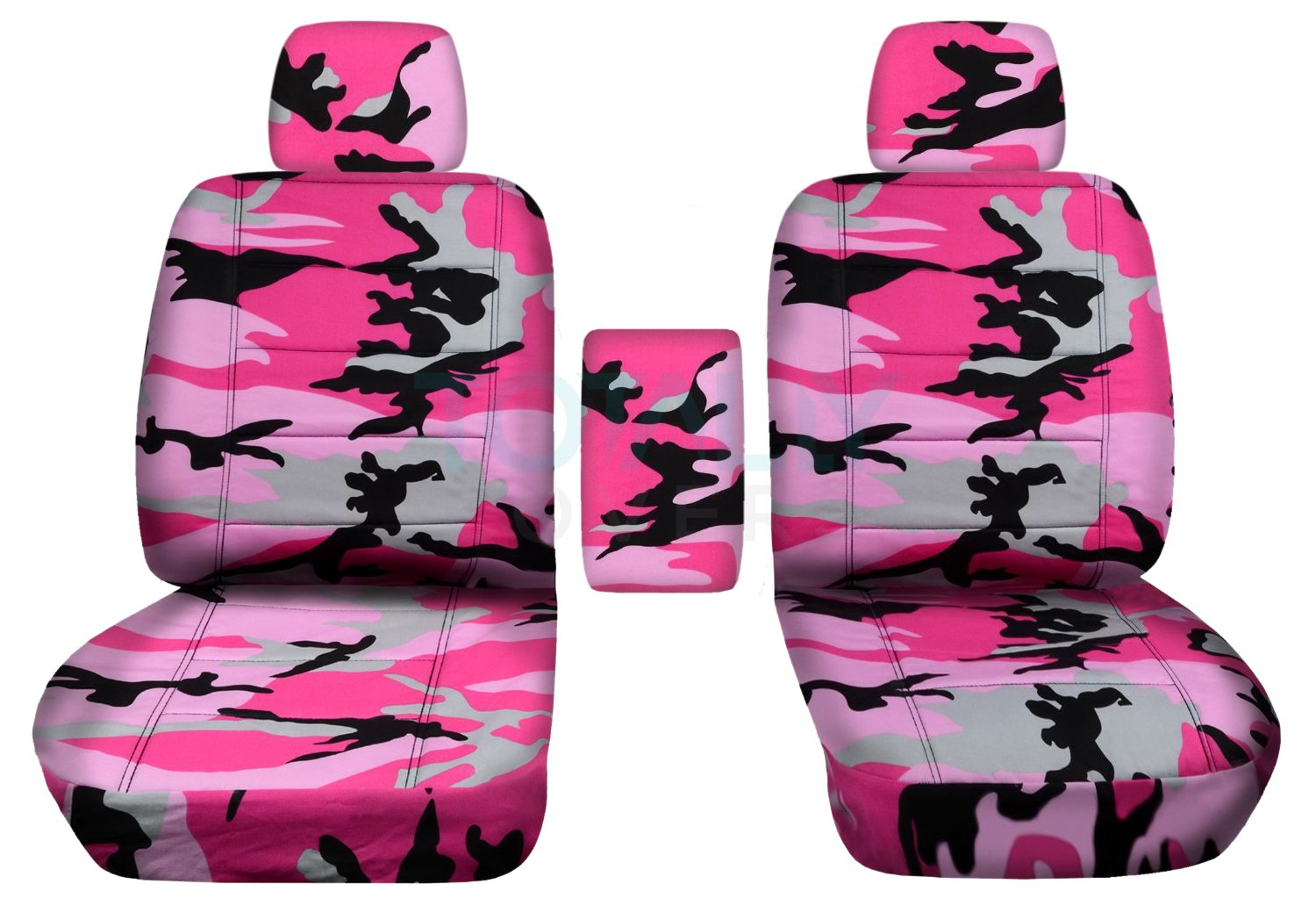 2010 2011 2012 2013 F-Series F150 Front Totally Covers Fits 2009-2014 Ford F-150 Camo Truck Bucket Seat Covers with Center Armrest 16 Prints Wetland Camouflage