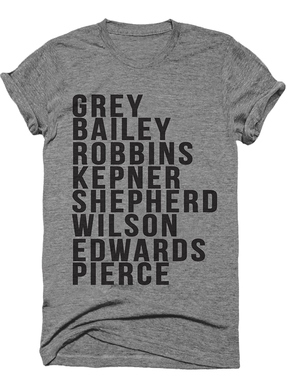 Cast Of Greys Anatomy Funny Women's Moms Tshirt