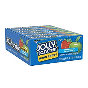 JOLLY RANCHER Assorted Hard Candy 1.2 Ounce (Pack of 12)
