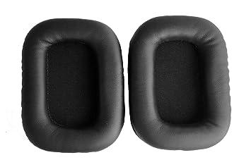 Oído reemplazo Pad almohadillas cojín de piel Reparación Piezas para Mad Catz Tritton AX720 Tritton 720