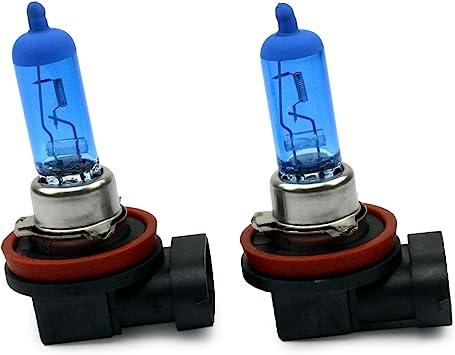 Inion 2x H11 55w Xenon Style Lampen Für Nebelscheinwerfer Halogen Birne Xenon Look E Prüfzeichen Auto
