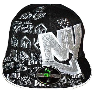 New York Ny Rhinestone Fitted Cap 63205a97e70