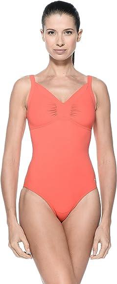 Speedo Women Brigitte Swimsuit 1 Piece Swimsuit Watermelon, 44 inch