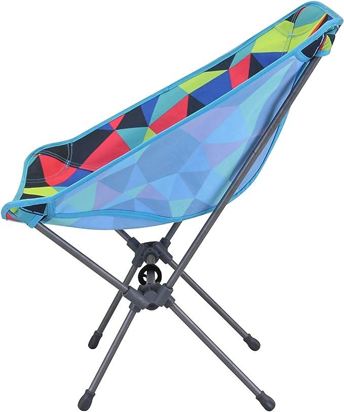 Multicolore 52/x 32/x 35/cm Portail ext/érieur Unisexe Electro Fusion Pliable Chaise de Camping