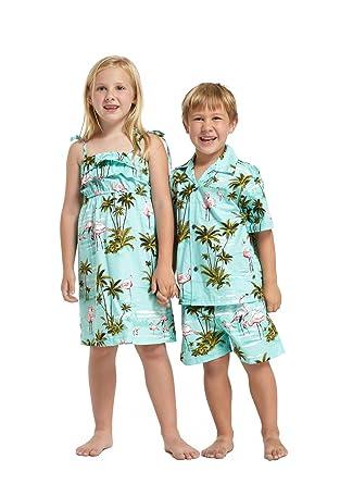 Hawaii Hangover Hermanos del niño y niña emparejados Equipos ...