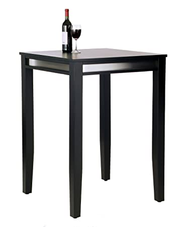 Home Styles Manhattan Pub Table, Black