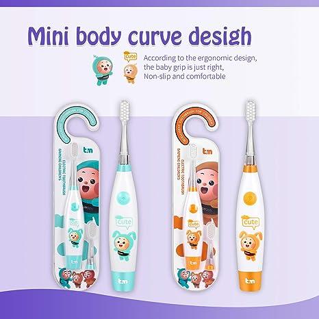 Amazon.com: Cepillo de dientes eléctrico Besmoon, cepillo de ...