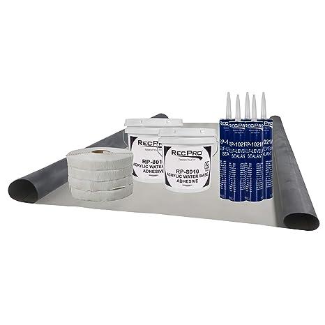 EPDM RV Rubber Roof Kit | 8 5' Wide | Camper Rubber Roof Kit | Trailer Roof  | Motor Home Roof | Camper Roof | RV (Camper) Roof Repair | Trailer Roof