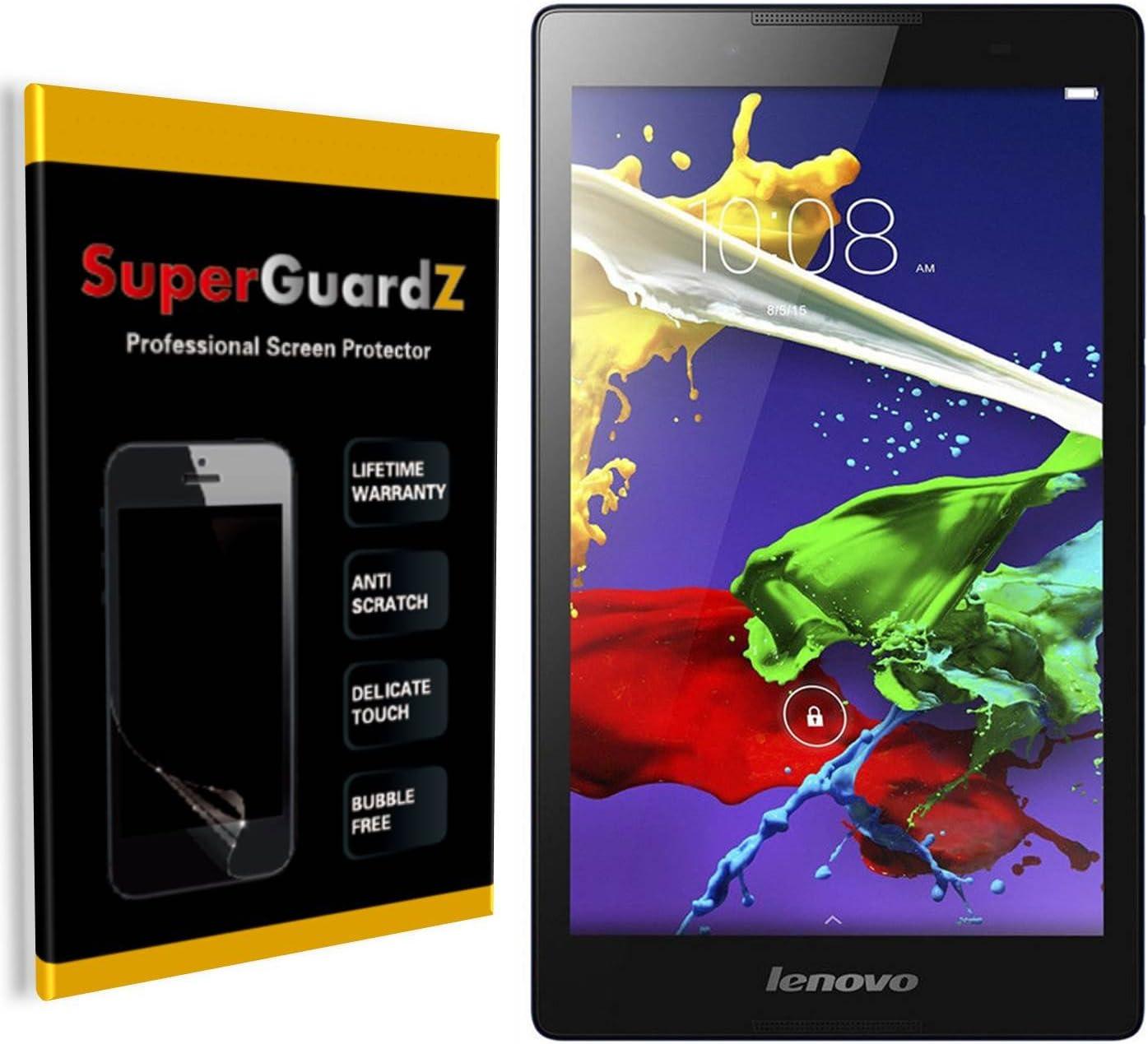 [3-Pack] for Lenovo Tab 2 A8-50 - SuperGuardZ Screen Protector, Anti-Glare, Matte, Anti-Fingerprint, Anti-Scratch, Anti-Bubble