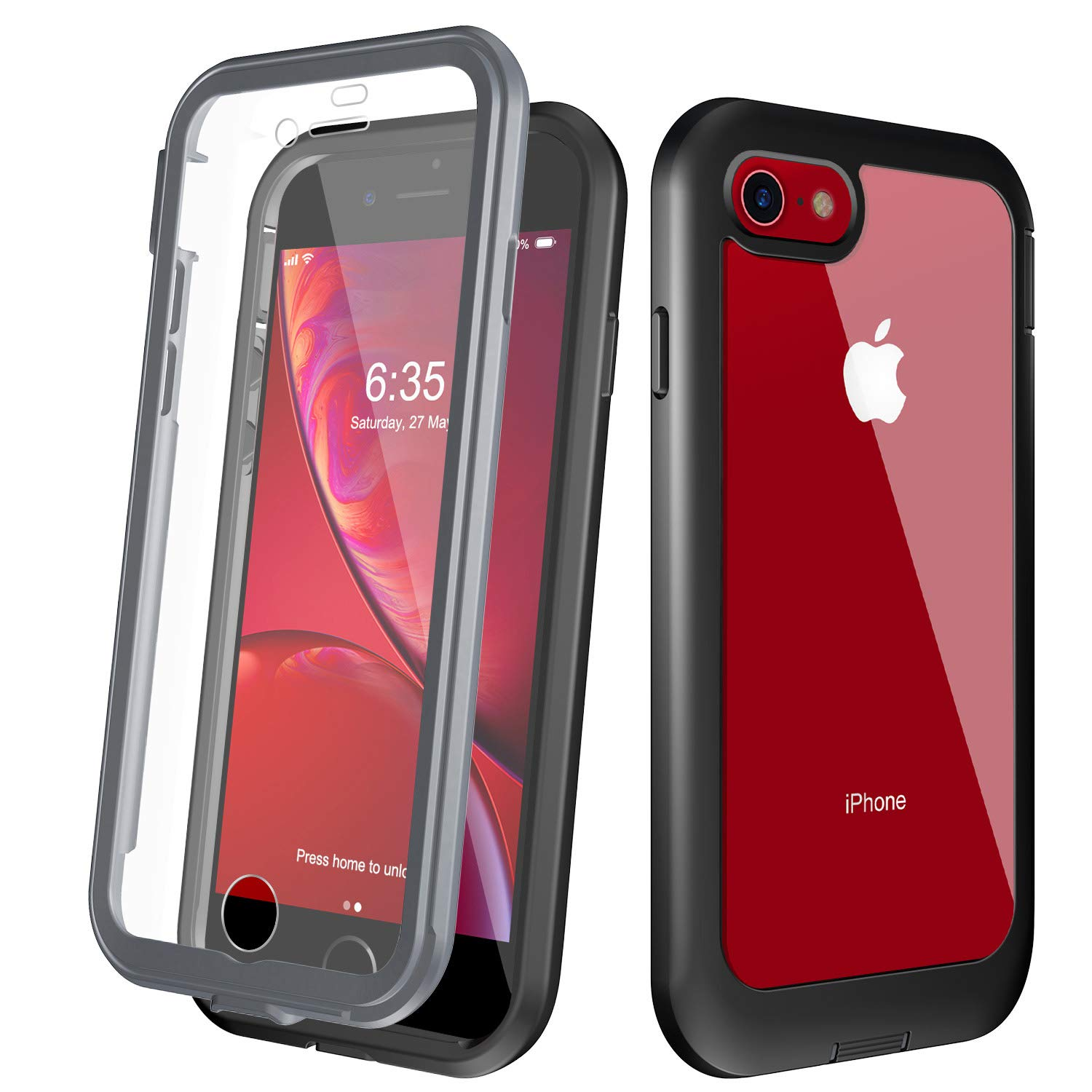 clear shockproof iphone 7 case