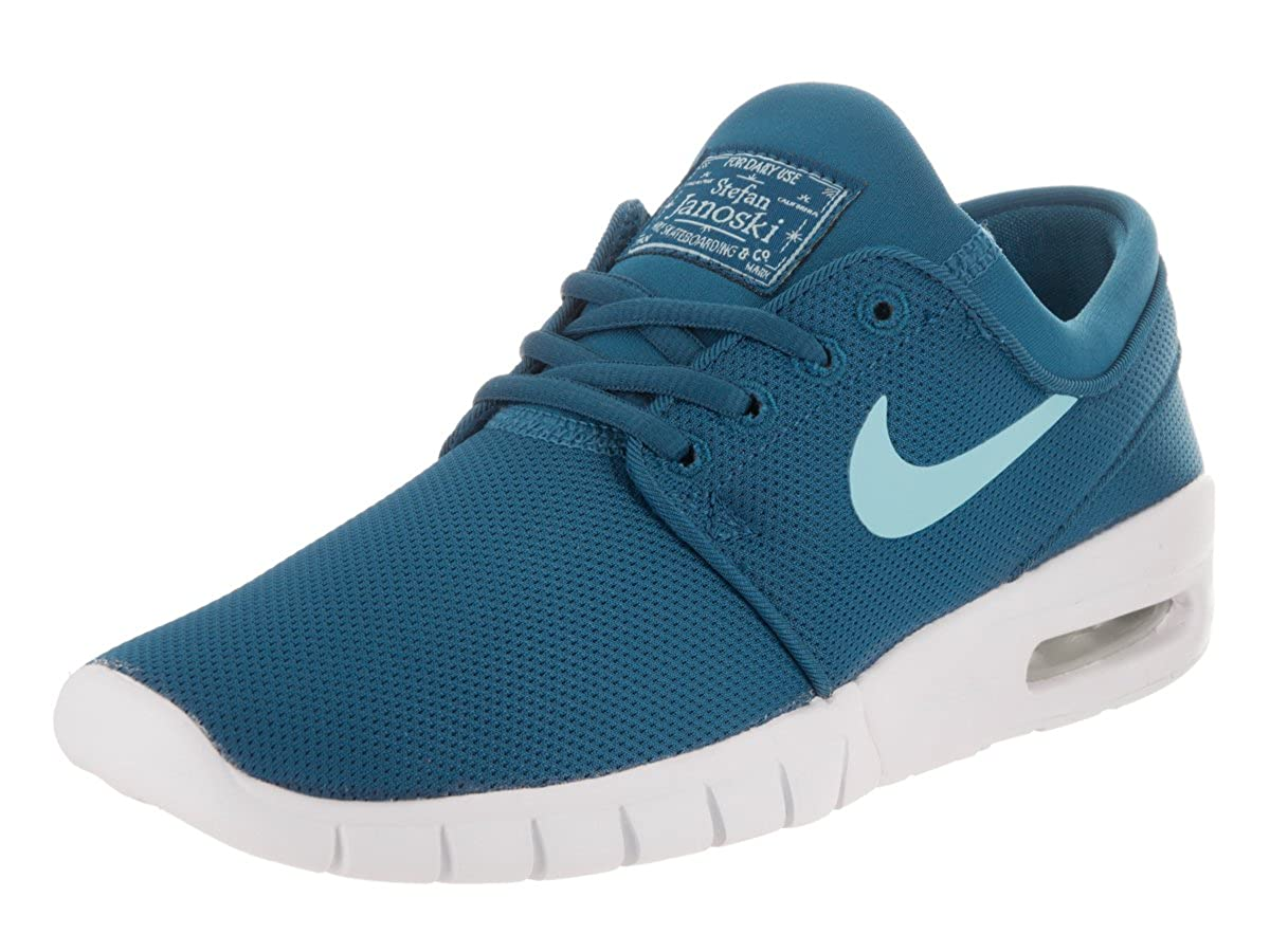 size 40 6cff9 9150b Amazon.com  Nike Air SB Stefan Janoski Max (GS) Sneaker Blue White  Shoes