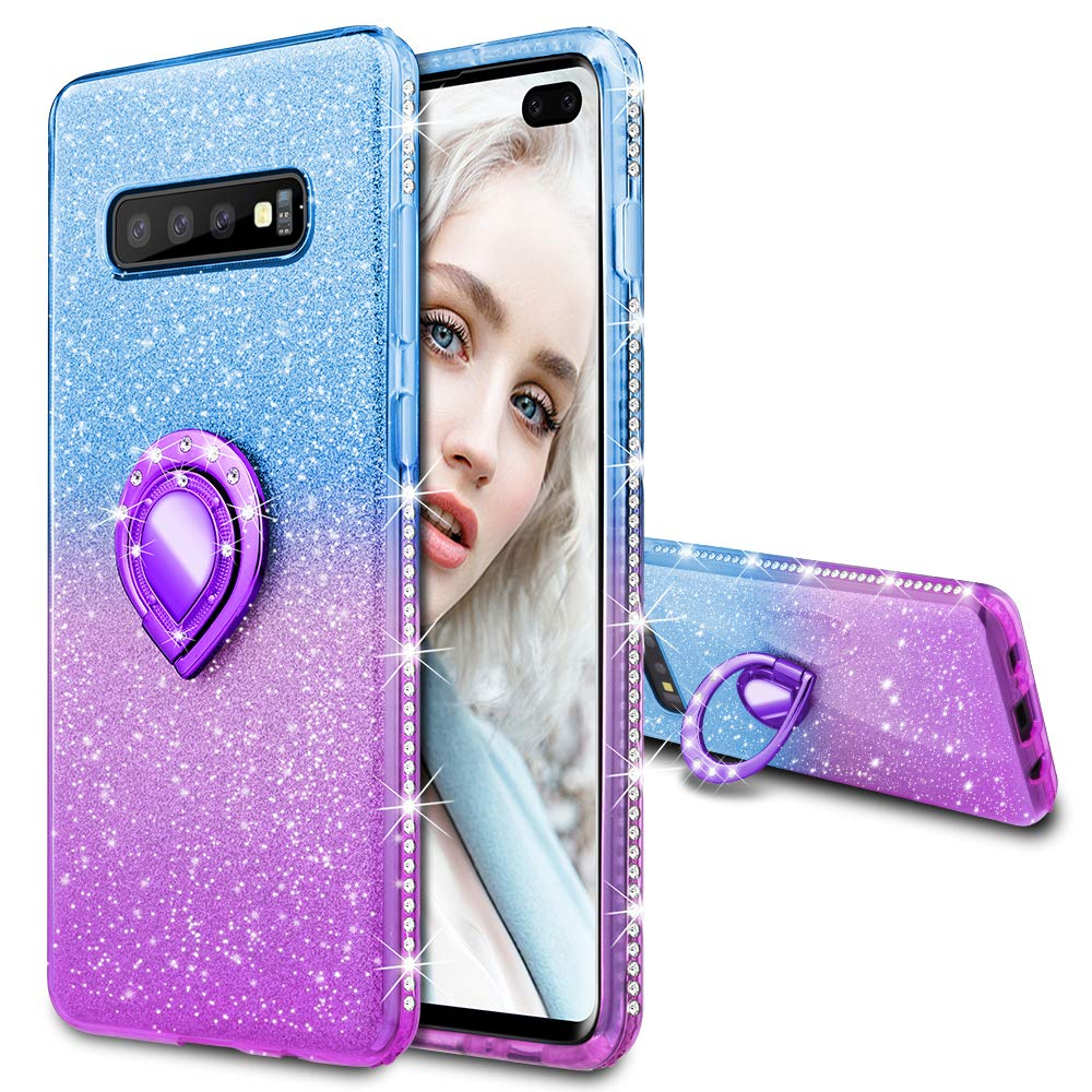Funda Samsung S10 Plus Glitter con pie MAXDARA (7NQH9JCJ)