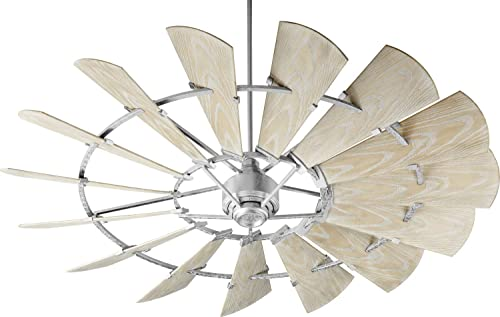 Quorum 197215-9 Windmill Ceiling Fan