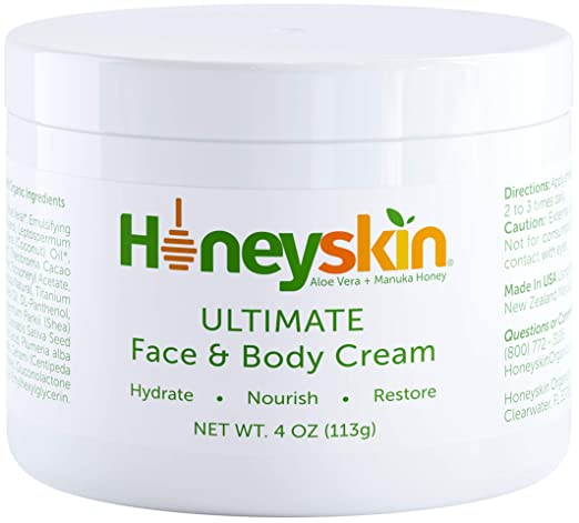Face and Body Cream Moisturizer