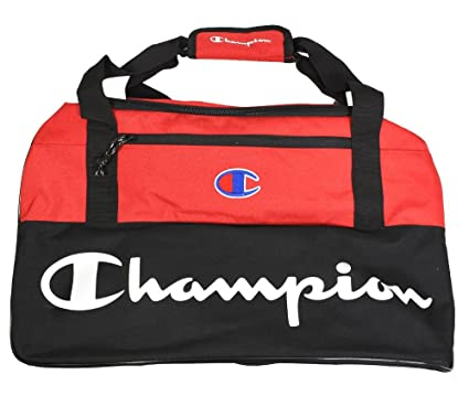 ae5f23a23855 Amazon.com  Champion- Forever Champ Utility Duffel Bag Bright Red ...
