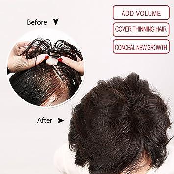 Igennki Hand Tied Mono Top Hair Pieces Human