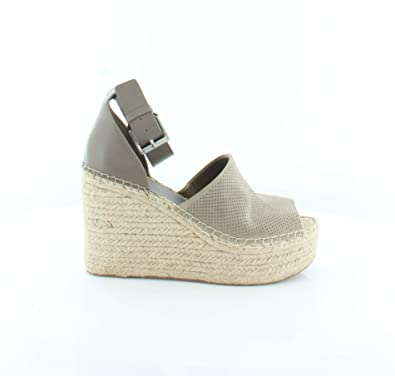 d66a8e61d592 Marc Fisher LTD Women s Adalyne Taupe Suede Wedge