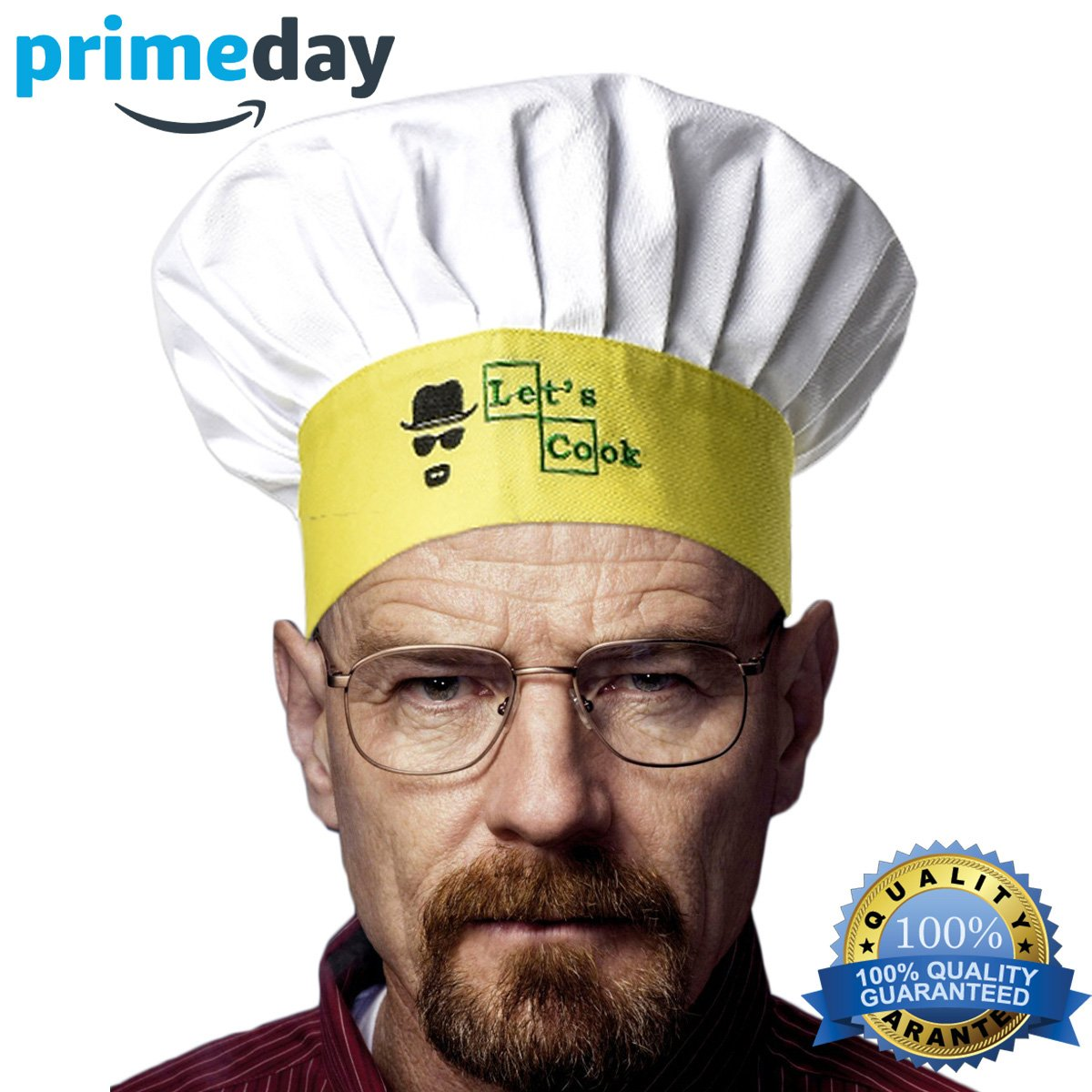 Famgem Chef Hat Kitchen Adult Cap - Adjustable for Men, Women, Kids, Grill, Cooking, Baking, BBQ, Outdoor/100% Cotton