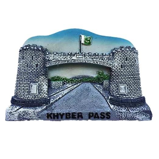 Khyber Pass - Imán de resina para nevera, diseño de pakistaní ...