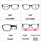 Reading Glasses 2 Pack Black Always Have a Timeless