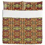 Masked Intentions Duvet Bed Set 3 Piece Set Duvet Cover - 2 Pillow Shams - Luxury Microfiber, Soft, Breathable