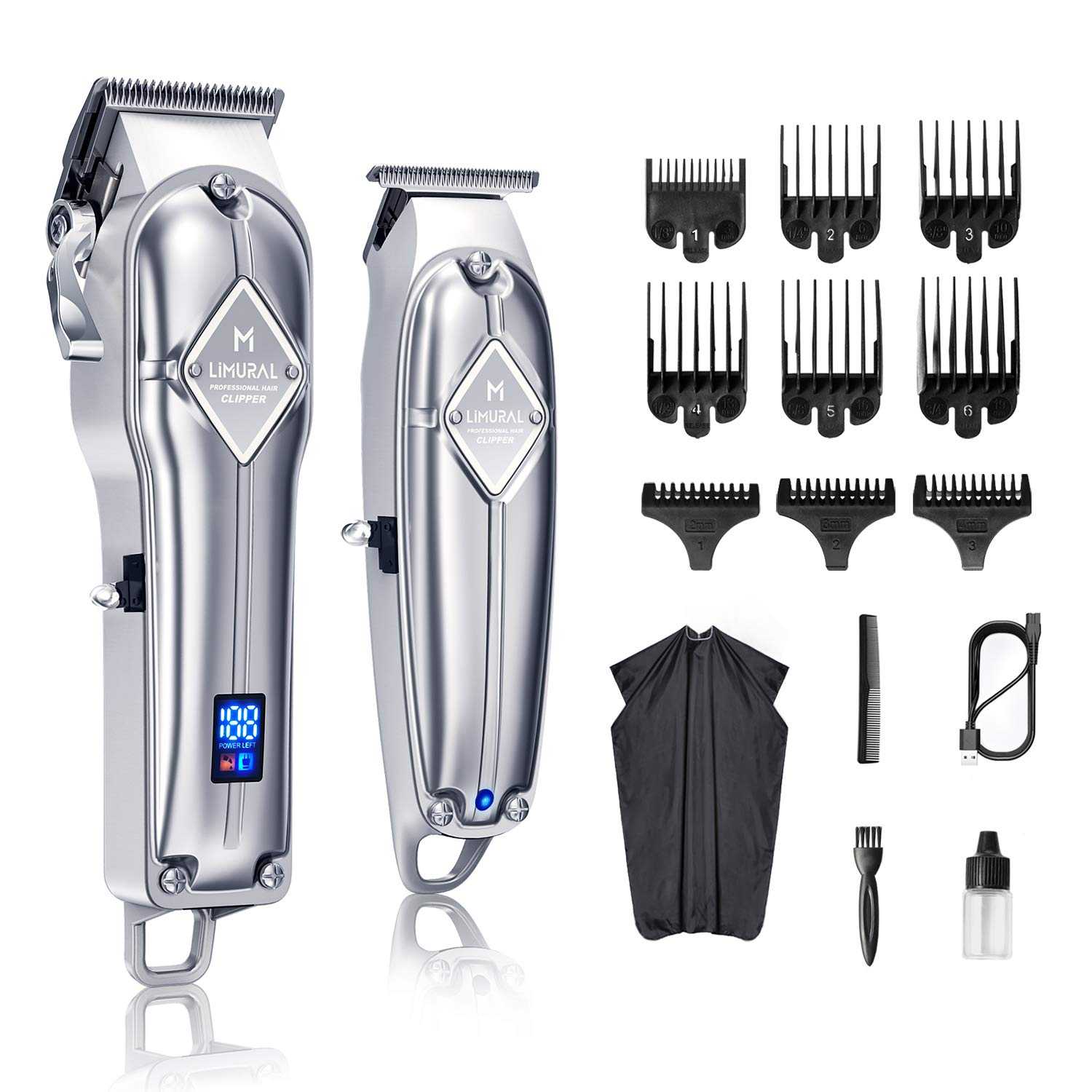 Amazon.com: Limural Hair Clippers for Men + Cordless Close Cutting
