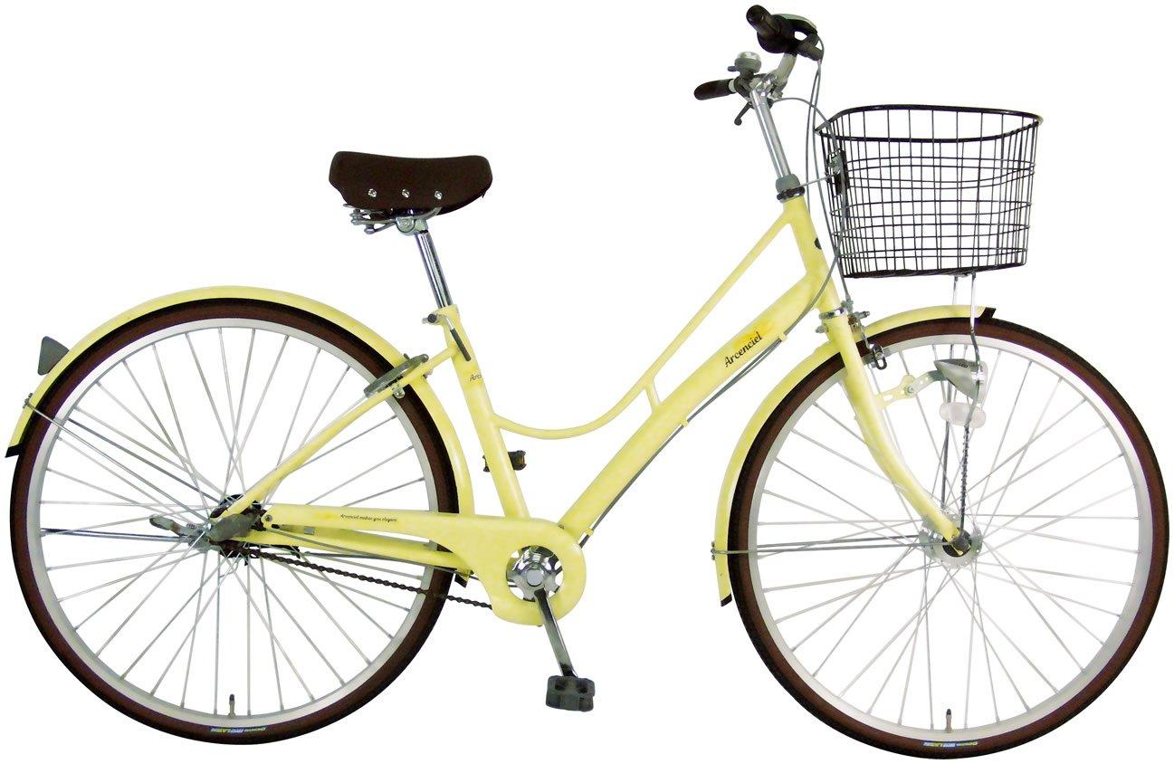 C.Dream(シードリーム) アルカンシェル AC73-H 27インチ自転車 シティサイクル アイボリー 3段変速 100%組立済み発送 B0728K4WBM