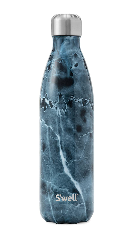 5x5x19 cm Swell Teakwood Botella Termo Marr/ón Madera