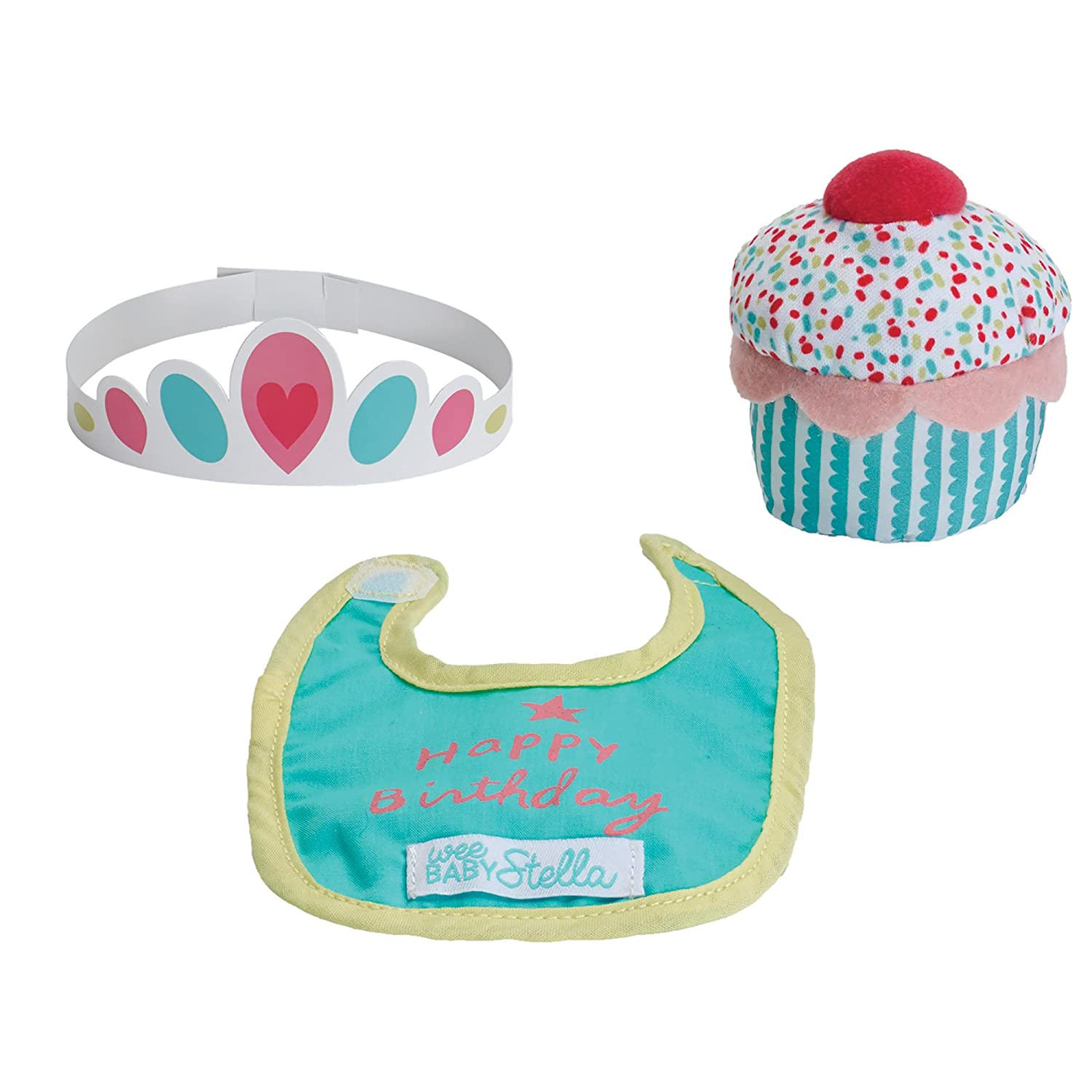 Manhattan Toy Wee Baby Stella Sweet Scents 12 Soft Baby Doll and Birthday Set NA