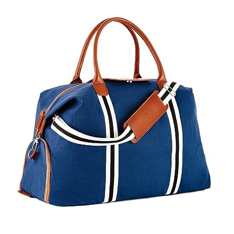 5db562dbbe Saint Maniero Borsone da viaggio di tela Borsa da palestra Weekend handbag  Borsone per sport Tote