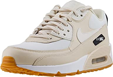 cuadrado robo aleación  Amazon.com: Nike Women's Air Max 90 Sneaker, Beige (Fossilsailblackgum  Light Br 207), US:5.5: Clothing