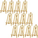 "US Art Supply 18"" Large Tabletop Display A-Frame Artist Easel (12-Pack)"