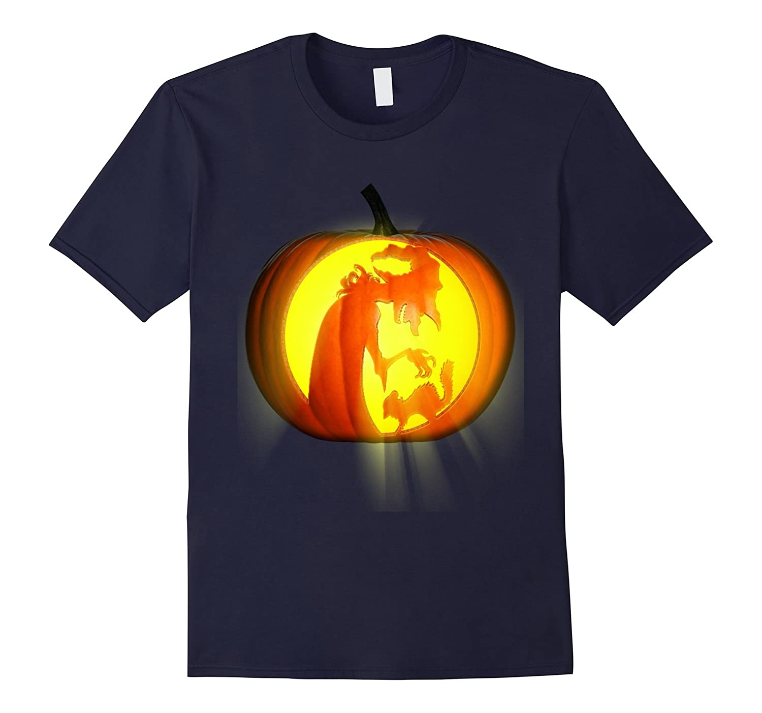 Witch and cats horror Crazy Halloween shirt-TJ