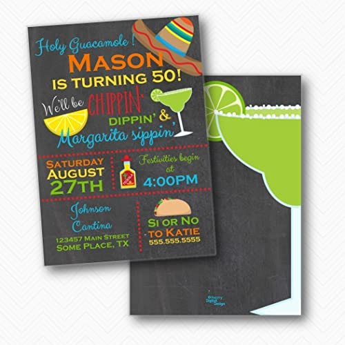 Amazon chippin dippin margarita sippin fiesta birthday chippin dippin margarita sippin fiesta birthday party invitations envelopes included stopboris Images