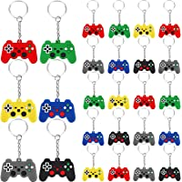 36 Pieces Video Game Controller Keychains Game Controller Handle Key Ring Video Game Keychain Pendant for Video Game…