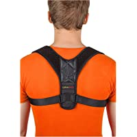 """[New 2020] Posture Corrector for Men and Women - Adjustable Upper Back Brace for Clavicle Support and Providing Pain Relief from Neck, Back and Shoulder (Chest Size 25"""" - 45"""")"""