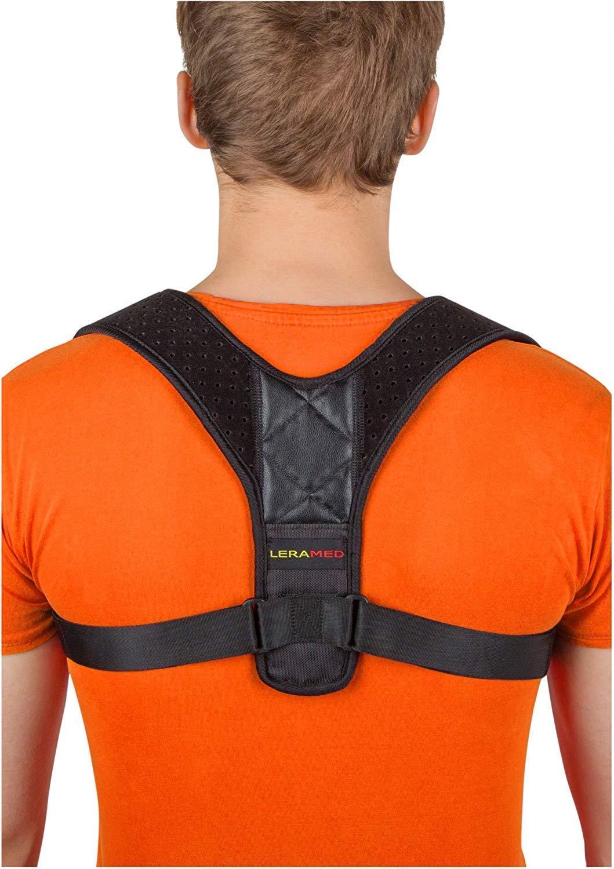 Posture Corrector for Women Men - Back Brace - Posture Brace - Effective Comfortable Adjustable Posture Correct Brace - Posture Support - Kyphosis Brace - Muscle Pain Reliever - Back Pain Reliever