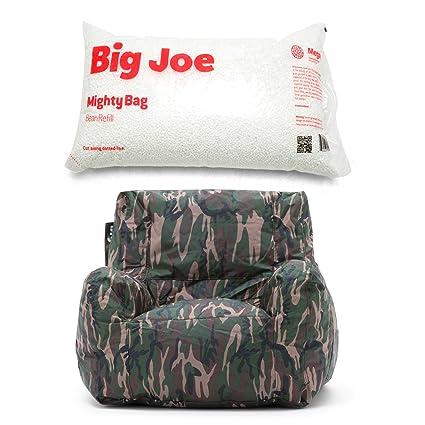 Astounding Amazon Com Big Joe Smartmax Duo Bean Bag Chair In Camo Spiritservingveterans Wood Chair Design Ideas Spiritservingveteransorg