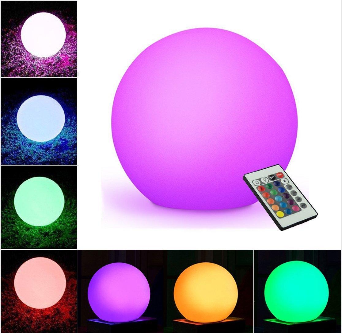 Glowing ball lamp