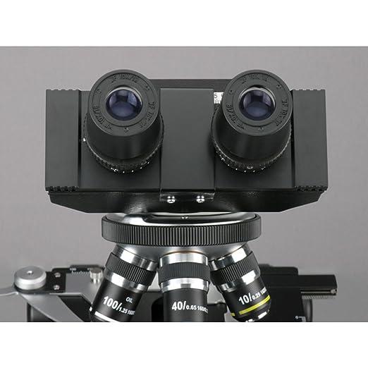 AmScope B390B-DKO Darkfield Binocular Biological Compound Microscope 40X-2000X
