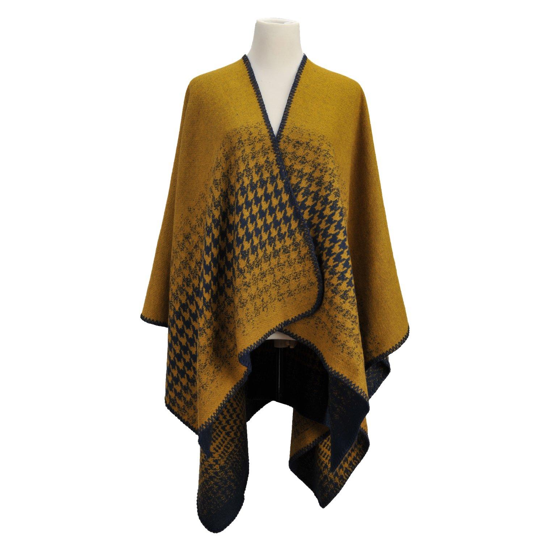 Women's Large Poncho Loose Cape Jacket Pashmina Shawl Underwear