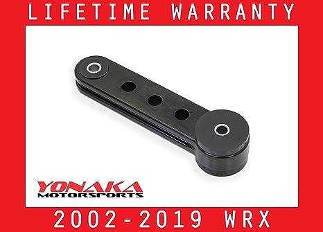 Yonaka Motorsports For 2002-2019 Subaru Impreza WRX STI Engine Pitch Mount  (Dogbone)