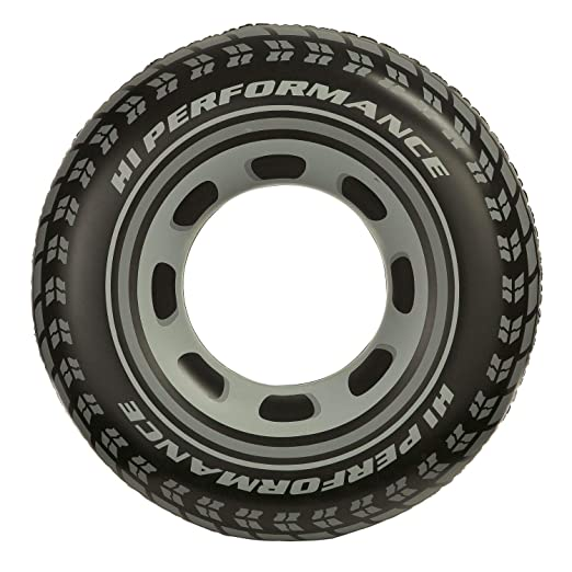 iDiffusion - Boya Hinchable neumático (diámetro: 91 cm.: Amazon.es ...