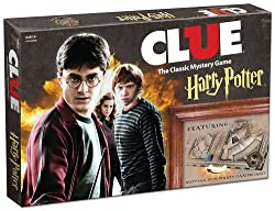 Clue Harry Potter Board Game - gifts for 10 year old boys