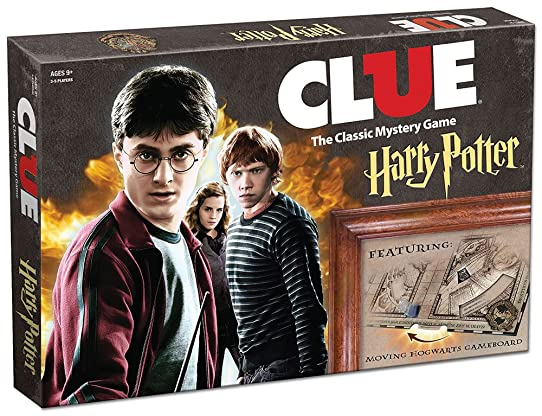 Clue Harry Potter Boardgame