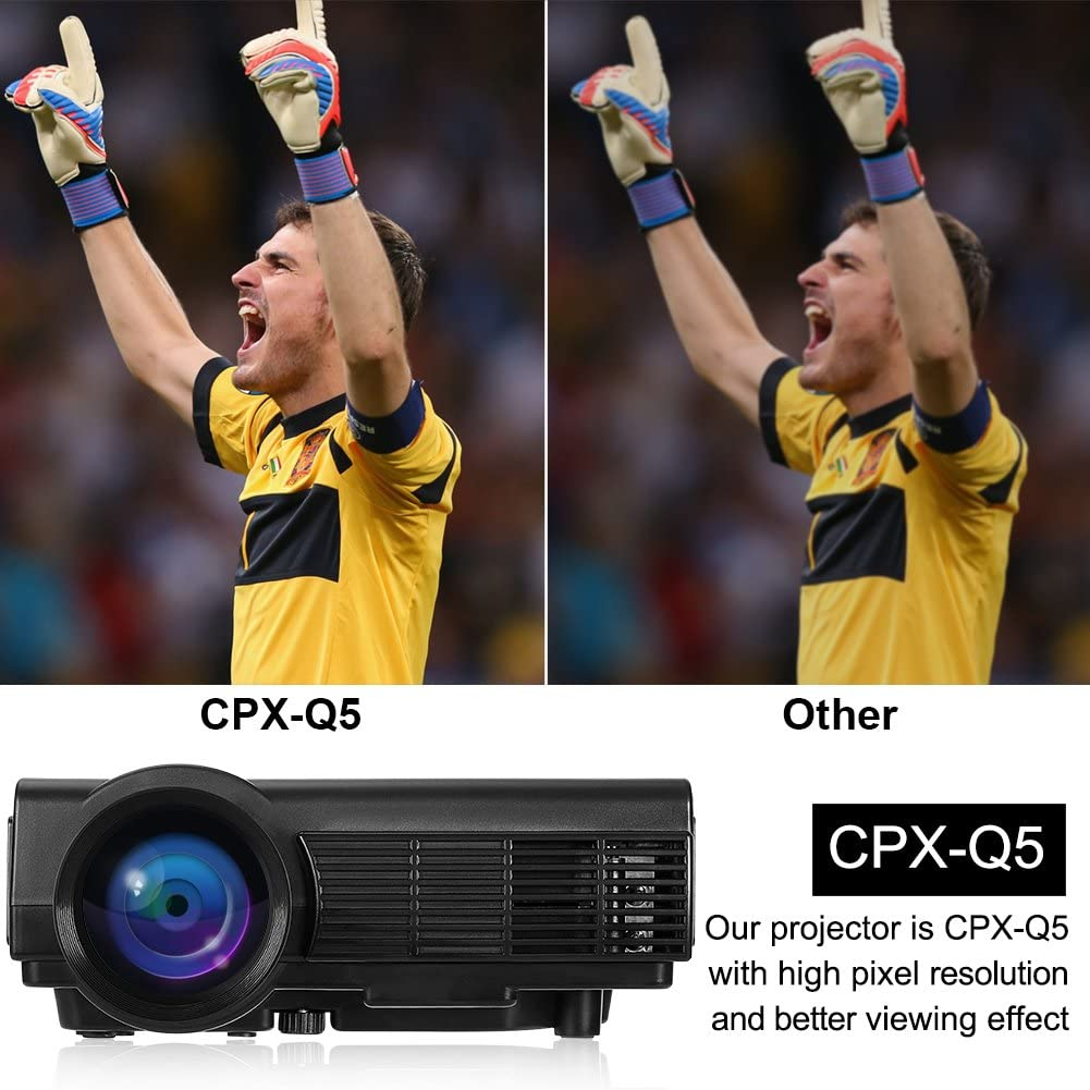 Proyector Android WiFi inalámbrico Bluetooth, Mini proyector CPX ...