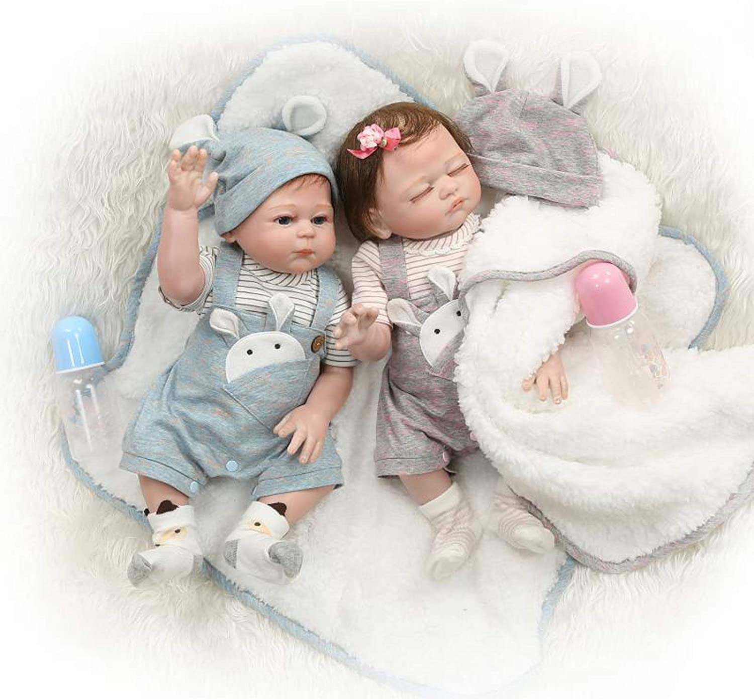 New Style Reborn Real Looking Baby New Born Full Vinyl Doll Kids Gift Toy Girl